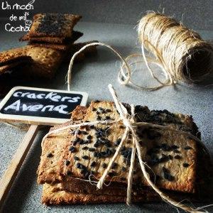 crackers de avena