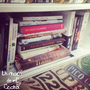 mis libros de cocina